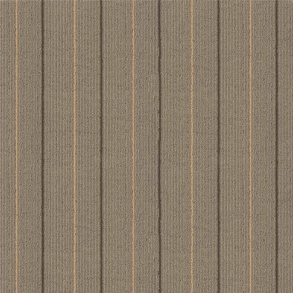 Economics Stripe Industrial Office Carpet Tiles 50cm X 50cm Tile Size