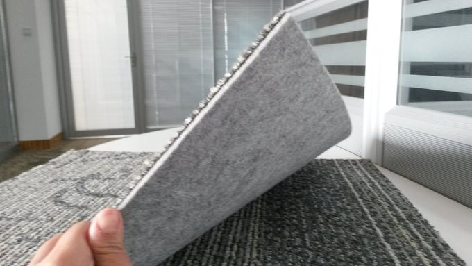 High Quality  loop pile carpet tiles for office or other indoor spaces PP material with Cushion
